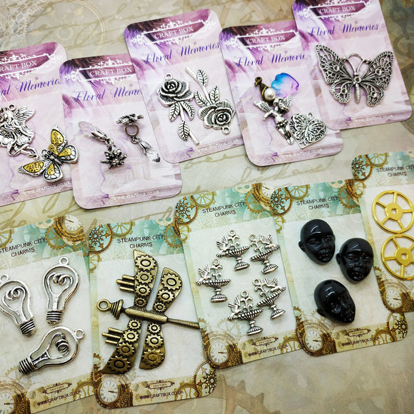 Craft Box Charm Collection (10 packs)