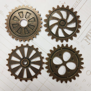 MitForm cogs and gears (4 pcs) Set One