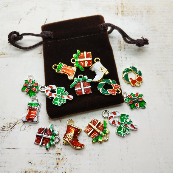 Christmas Charm Pouch