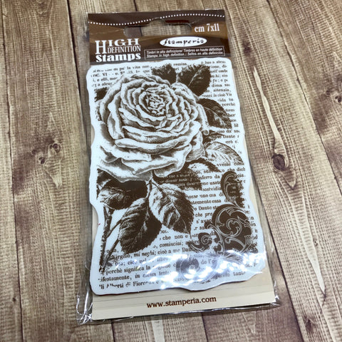 Stamperia Stamp Rose