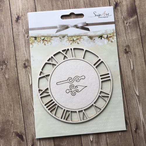 SnipArt - Large Clock Face (M)