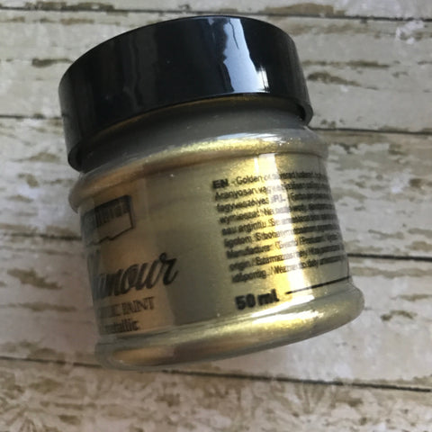 Pentart Glamour Paint - Antique Gold