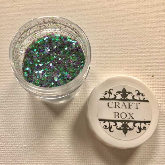 Craft Box Glitters - Chameleon Violet Green