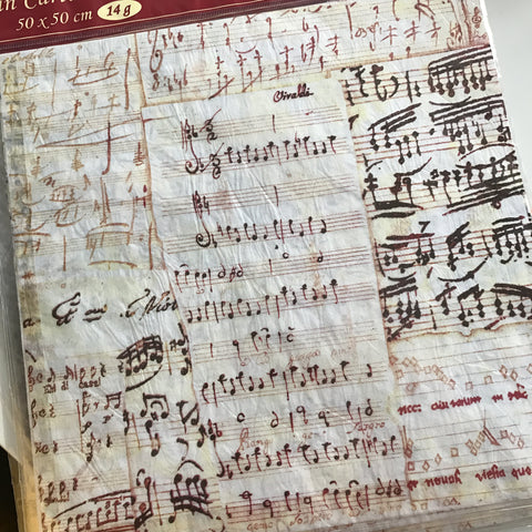 Stamperia Napkin - Music Notes