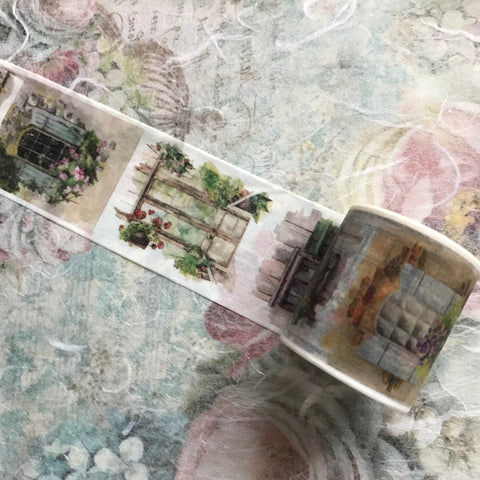 Windows Washi Tape -  4cm wide