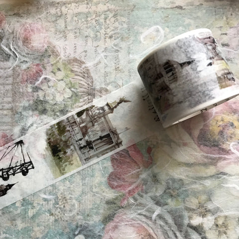 Travel Washi Tape -  4cm wide