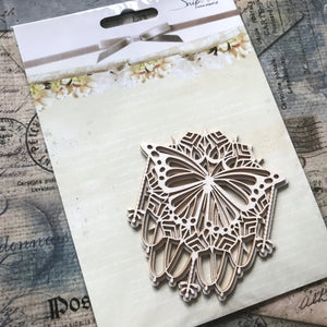 SnipArt - Doily Moth Layered (M)