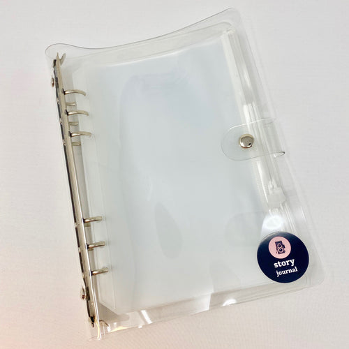 Story Journal A5 Clear Storage Folder