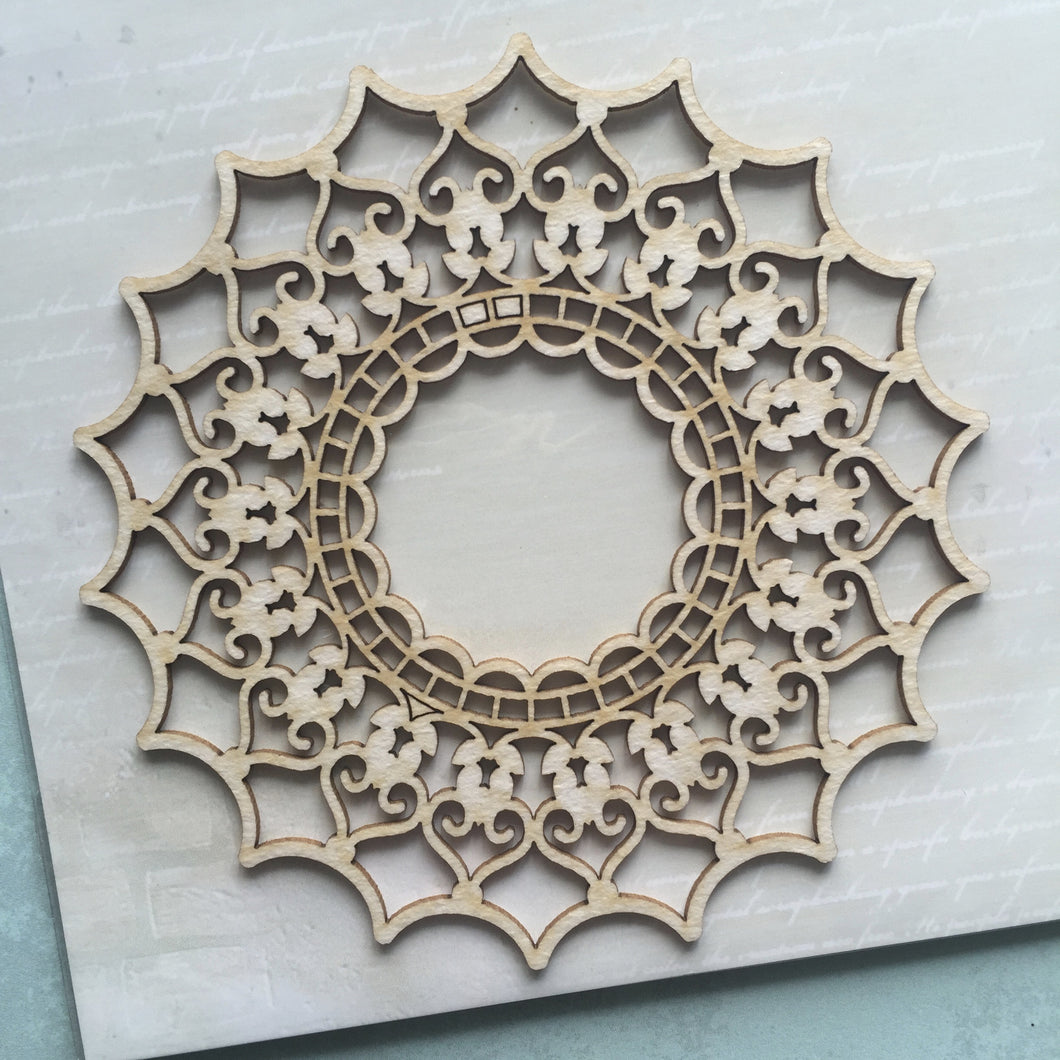SnipArt cut-out - Pointy Edge Doily