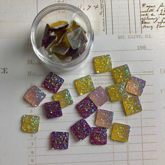 Square Resin Sparkles