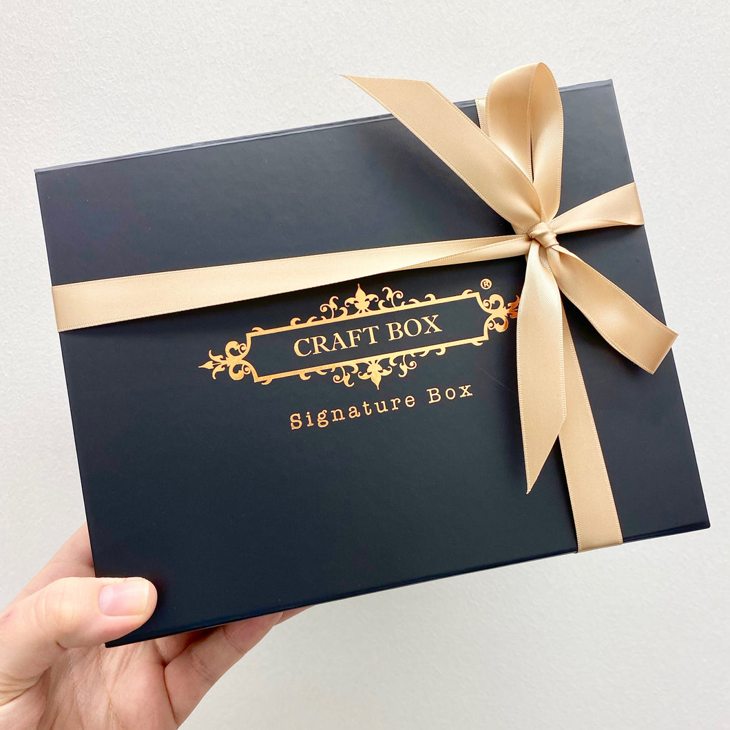 Craft Box Signature Box - January 2020 (one-off Box)