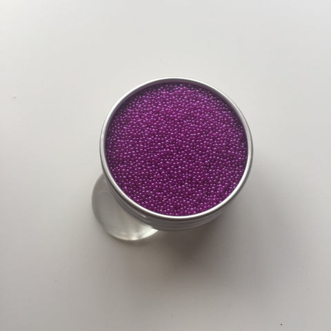 Craft Box Minis - Pearlescent Micro Beads Purple