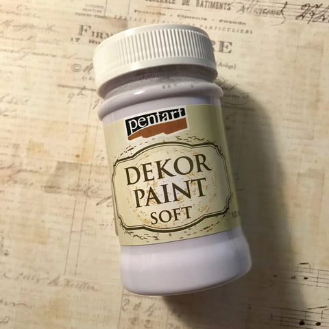 Pentart Dekor Paint Soft - Light Lilac
