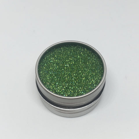 Craft Box Minis - Iridescent Micro Beads Grass Green