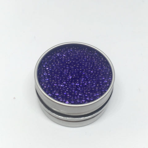 Craft Box Minis - Large Clear Micro Beads Midnight Blue