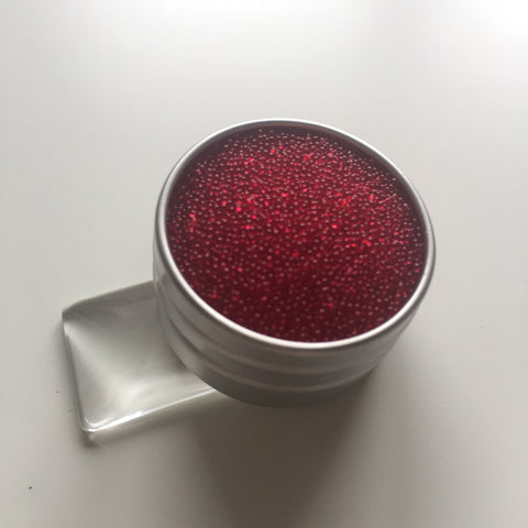 Craft Box Minis - Translucent Micro Beads Red