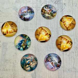 Itsy Bitsy - Winter Scenes Cabochons
