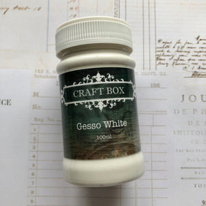 Craft Box White Gesso 100ml