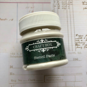 Craft Box Stencil Paste - pearl 50ml