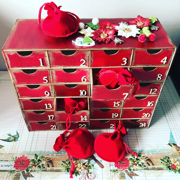 Limited Edition Winter Craft Box - The Advent Calendar
