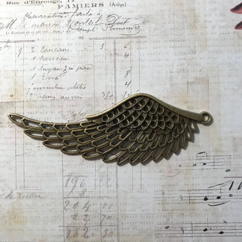 Angel Collection - Brass Wing