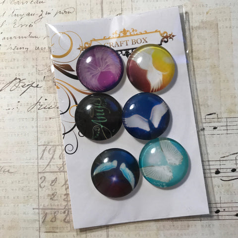 Angel Collection - Angel Glass Cabochons