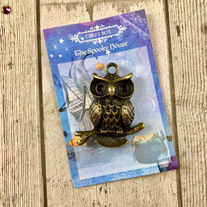 October Replay - Craft Box Owl Charm