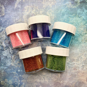 Random Microbeads (5 pieces, all different)