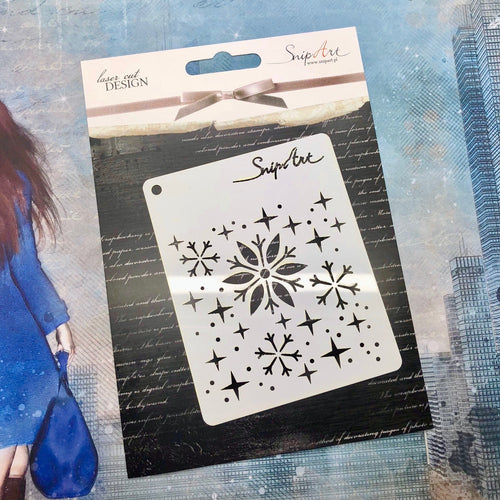 November Replay - Snowflake Stencil