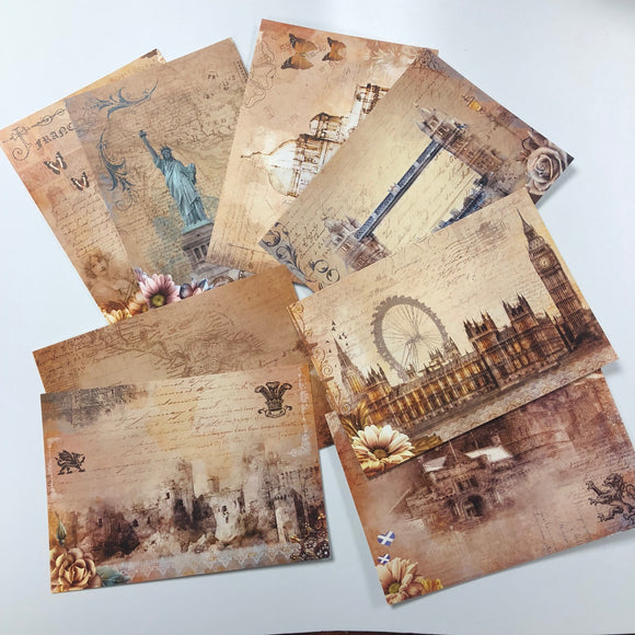 Travel Often Postcards (set of 8)