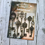 Junkyard Bazaar - Brass Key Set