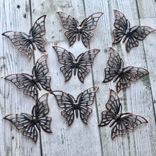 Load image into Gallery viewer, Junkyard Bazaar - Bronze Butterflies