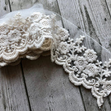 Load image into Gallery viewer, Junkyard Bazaar - Vintage Ivory Lace