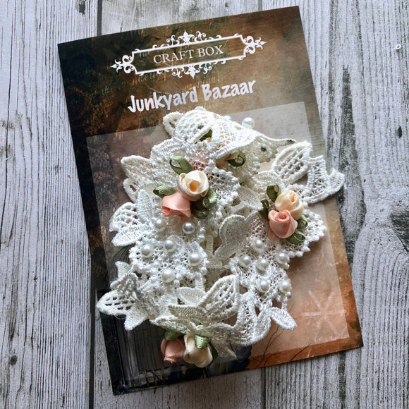 Junkyard Bazaar - Decorative Ivory Lace
