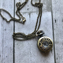 Load image into Gallery viewer, Junkyard Bazaar - Rabbit Pocket Watch