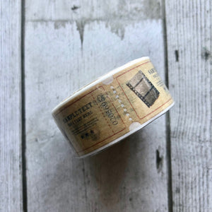 Junkyard Bazaar - Washi Vintage Tickets Tape