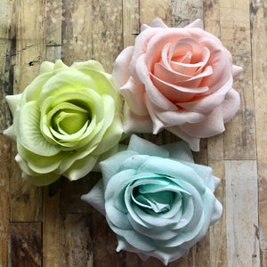 January Replay - Large Fabric Flowers