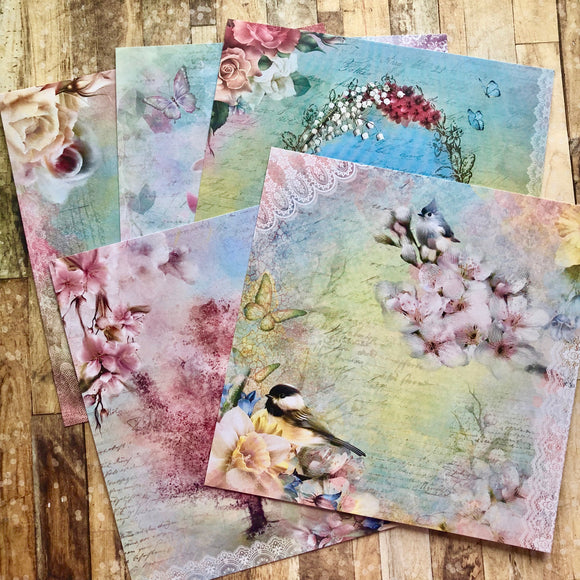 January Replay - Spring 6x6 papers