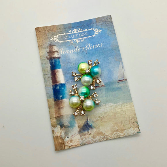 Seaside Stories - Pearl Cabochons (February Replay)