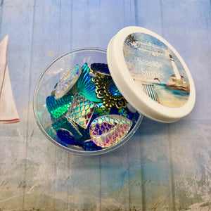 Seaside Stories - Mermaid Sparkle Pot