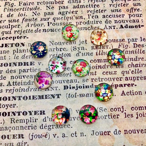 Vintage Treasures Tiny Cabochons