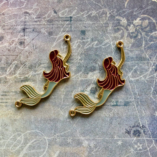 The Dreamer Collection - Enamel Mermaids