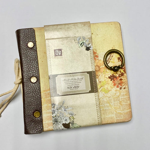 Prima Mixed Media Journal (6.25 x 6.25 inch)