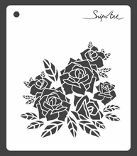 Load image into Gallery viewer, SnipArt Stencil: BITD Roses