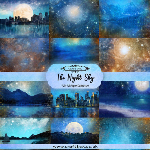 The Night Sky 12x12 Paper Collection