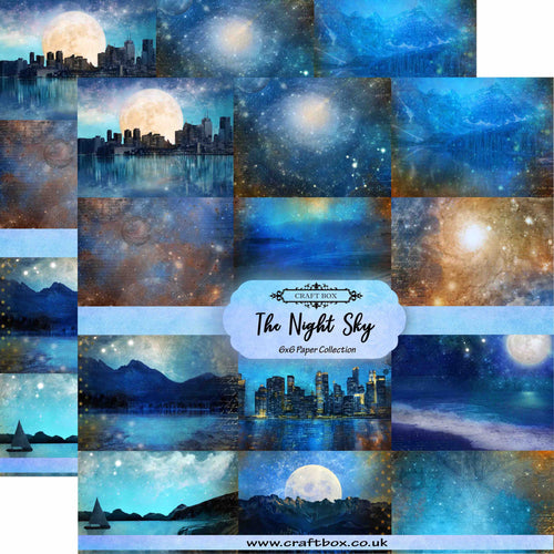 The Night Sky 6x6 Paper Collection DUO