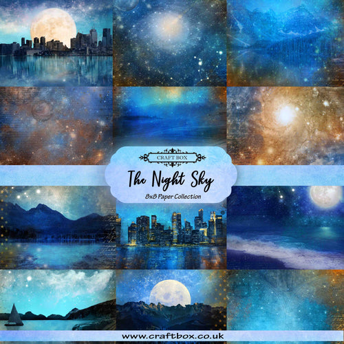 The Night Sky 8x8 Paper Collection
