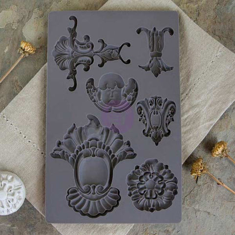 Prima Vintage Art Décor Mould - Baroque 2