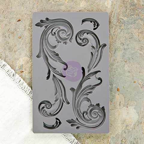 Prima Vintage Art Décor Mould - Large Flourish