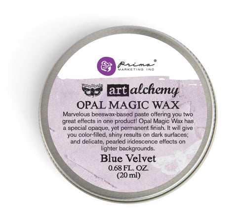 Prima Art Alchemy Opal Magic Wax - Blue Velvet